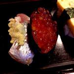 128941613 - 【ランチ】上寿司1.5人前の一部