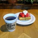フラット ホワイト コーヒー ファクトリー - 本日の珈琲
