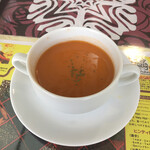 Ashoka - ランチのセットスープ
