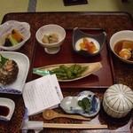 つかさや旅館 - 夕食の膳