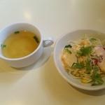 12895924 - スープとサラダ(レディースセットより)