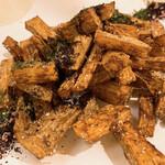 料理や こうしゅう庵 - 長芋フライドポテト