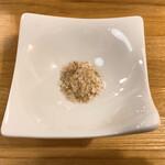 料理や こうしゅう庵 - 燻製塩