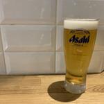 ツマミグイ酒場 カモシカスタンド - 生ビール