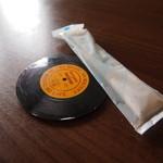 トレモロ - レコードデザインのコースター