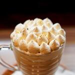 珈琲ぶりこ - 濃厚・焙じ茶ラテ