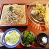 江戸家 - 料理写真:ふきのとう天ざるセット