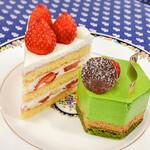 128974885 - 苺のショートケーキ・ブラン                       ベール・ピスターシュ