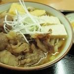 肉うどん 野島 - 肉うどん ¥880