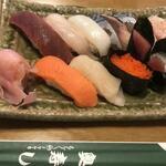 奥寿し - 料理写真:ランチセット
