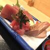 再来 - 料理写真:赤身 中落ち 炙りトロ