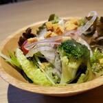 Shiroganekohiten - セットのサラダです。