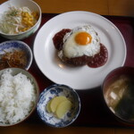 フルフル - 料理写真:ハンバーグ定食