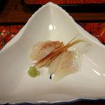 民宿とおの - 料理写真:お刺身。