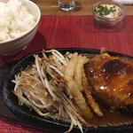 グリル ピエロ - ハンバーグ定食1,200円