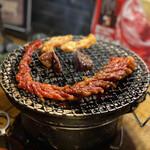慶州 - 料理写真:教育中