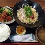 食彩味処 おおにし - 料理写真:和風つけ麺・とり唐