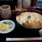 魚松 - 料理写真:菊川 魚松 かつ丼