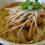 XI'AN - ネギチャーシュー麺。