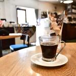 青いナポリ - セットドリンク@+200円:ホットコーヒー