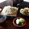 松林閣そば処石亭 - 料理写真:ミニ天丼蕎麦セット(¥1330税込み)