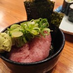豪快 立ち寿司 - ネギトロ