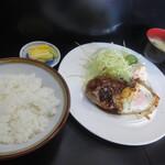 お食事処 さと - 料理写真:ハンバーグ