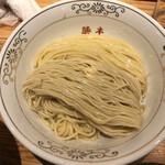 129019594 - 2種類のつけ麺