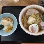 129019811 - たまご定食@880円(小鳩ラーメン+たまごご飯)