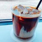 カフェ ローブ - アイス黒糖ラテ