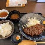 とんかつ浜名 - 味噌ロース定 1,350円税込