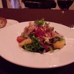 ビストロ クール - 八朔と生ハムのサラダ