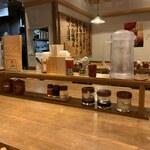 手作りの味噌らーめん 味噌樽 - カウンターセット