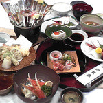 加賀家 - コース料理一例