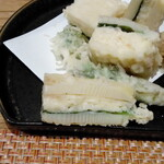 和食ながい - 筍の海老しんじょうの断面