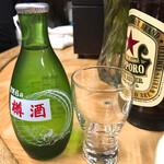 稲田酒店 - 吉野杉の樽酒 ¥300