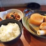 姫路おでん 地料理 居酒屋 じごろ小廣 - おでん定食  ¥580   こりゃ安い!