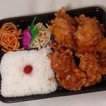 日の丸亭 - からあげ弁当(472円)