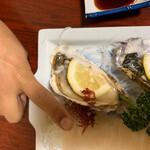 魚一心 - 殻つき牡蠣(リピート)