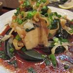 炭焼き備中家 - ピータン豆腐