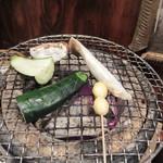 炭焼き備中家 - 七輪炭火焼き