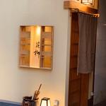 129061415 - 花柳の玄関。