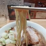 129062604 - モチモチの中太ストレート自家製麺
