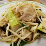 ジロー's テーブル - 肉野菜炒め!