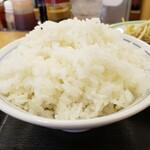 ジロー's テーブル - ライス大盛プラス70円!