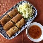 タイ料理 デュシット - ・ポピアトード regular 1,180円 (タイの揚げ春巻き)