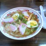 丸一製麺所食堂 - ちゃんぽん.\500