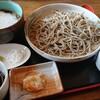 蕎麦の里 びばいろ - 料理写真:セット、小とろろそば 1,200円(税込)