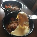 MESO - テイクアウト☆煮込みハンバーグinチーズ
