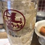 伊勢佐木町 肉寿司 - ハイボール